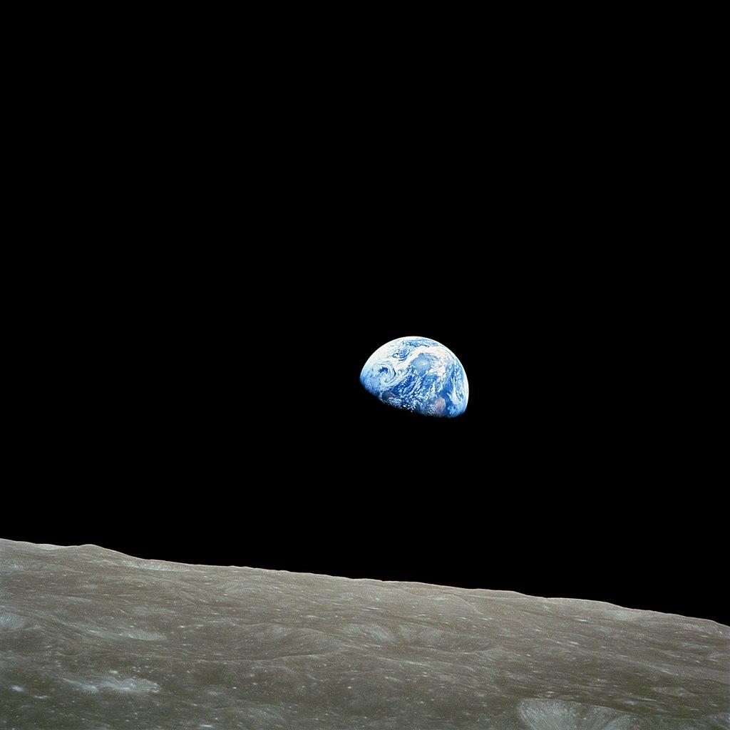 Jorden set fra månen