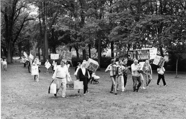 Grundlovsdag, Byparken, 1987
