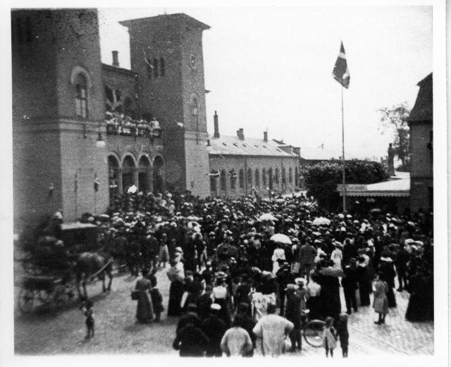 Grundlovstog, Hestetorvet, 1903.