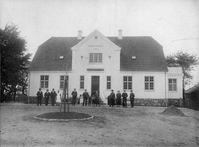 Kærgården, Svogerslev, 1924