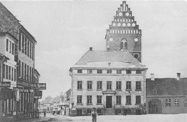 Rådhustorvet, ca. 1865