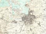 Historisk kort over Roskilde fjord