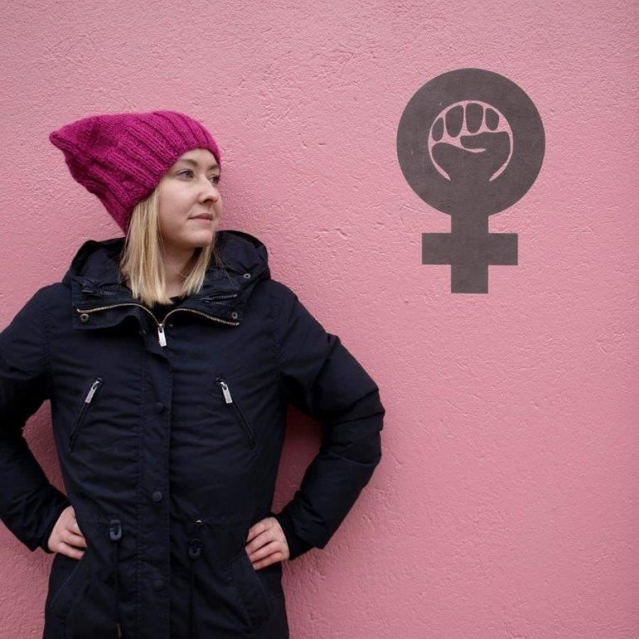 Kvinde med Pussy hat