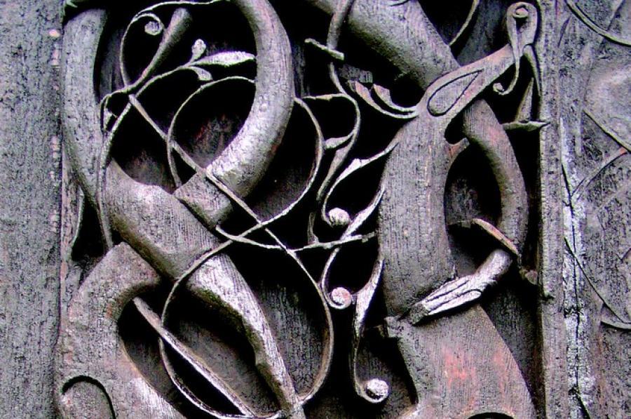 Mytologiske ornamenter. Foto af gari.baldi