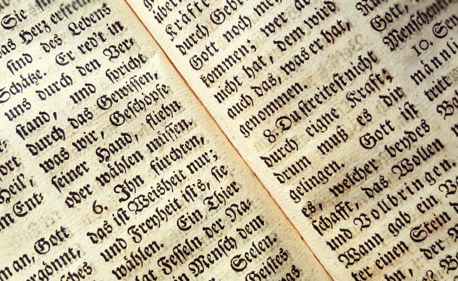 Illustration af typografier