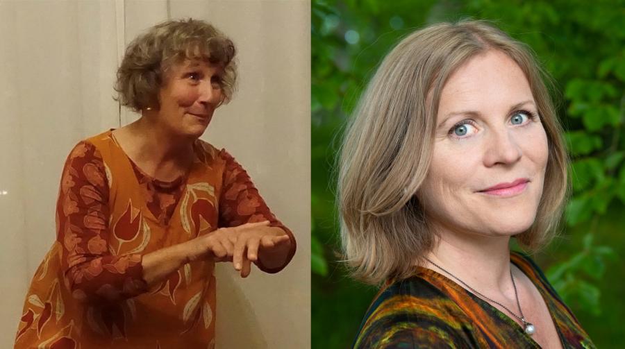 Annemarie Krarup og Mette Jørgensen