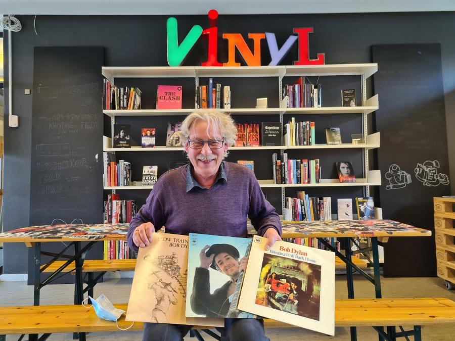 Musikbibliotekar Ulrik Drejer