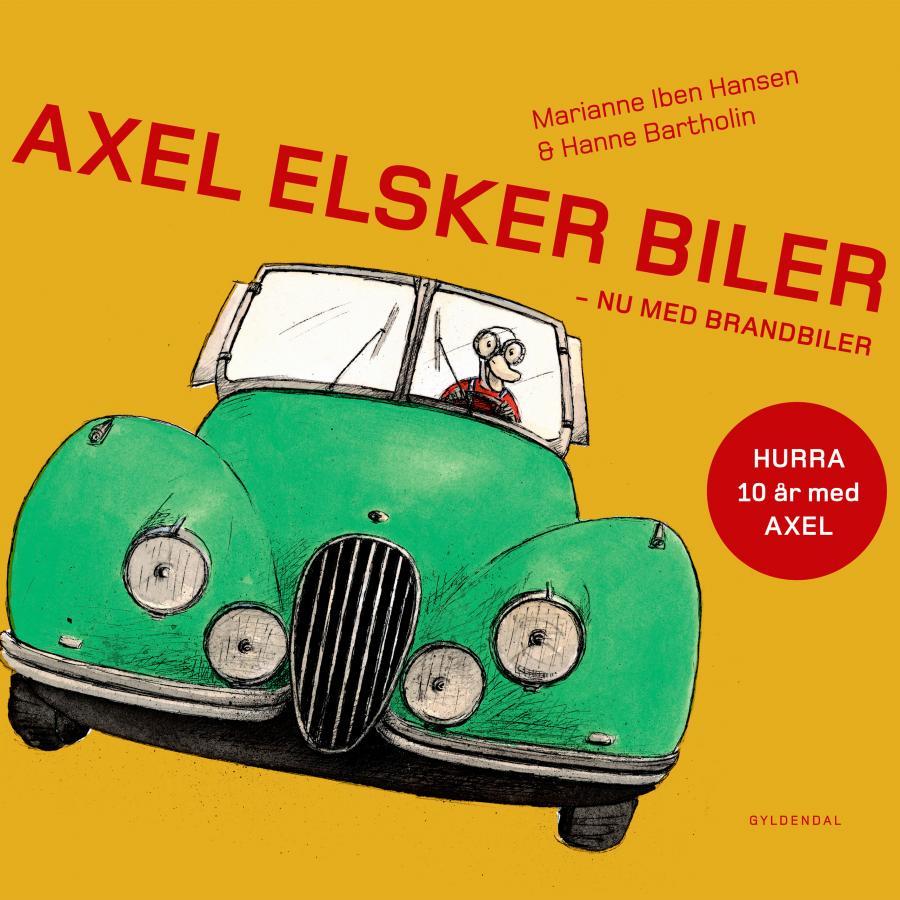 Forside af Axel elsker biler
