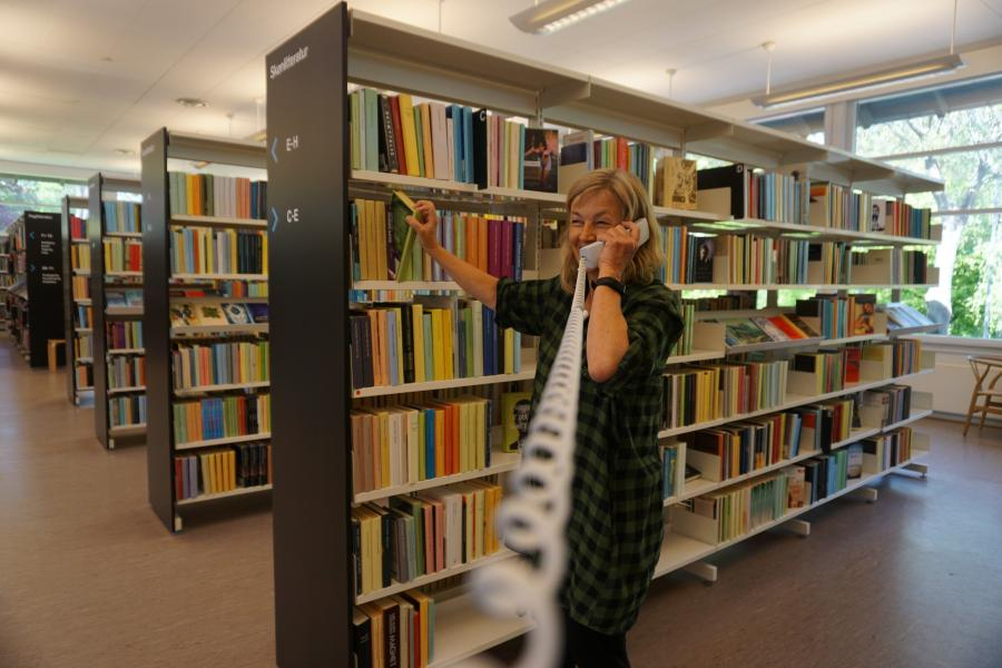 Bibliotekar Christine