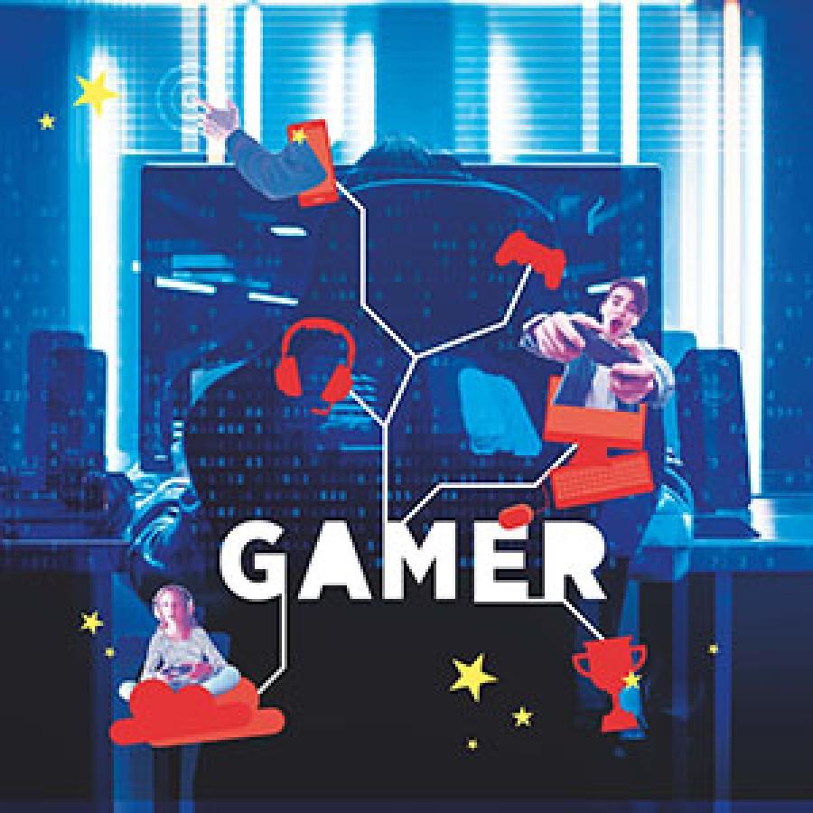 Se litteraturlisten om gaming