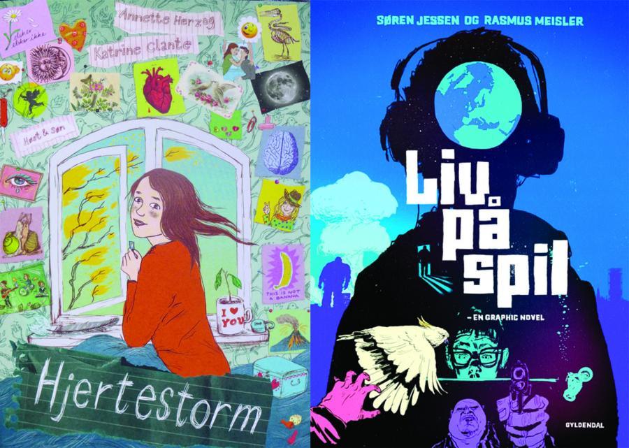 Graphic novels til børn