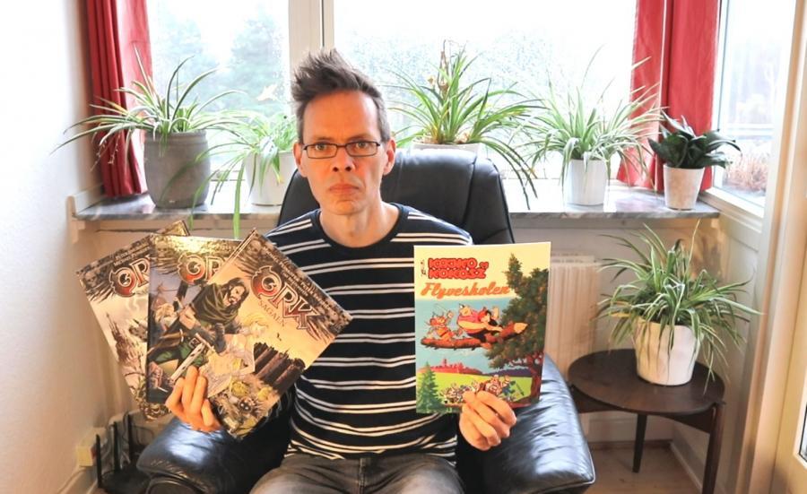 Bibliotekar Morten Langkilde