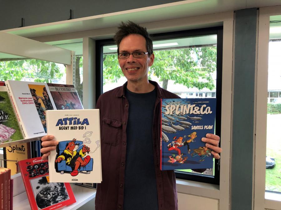 Morten med to tegneserier