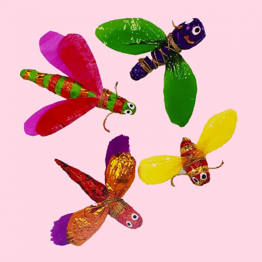 Se maj programmet for Kreativt hus for børn