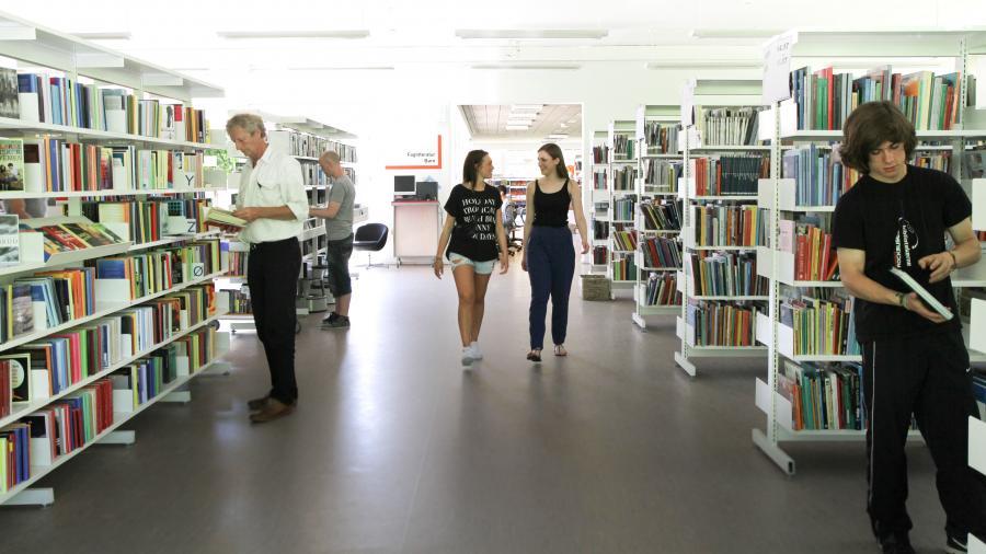 Udlånet på Roskilde Bibliotek