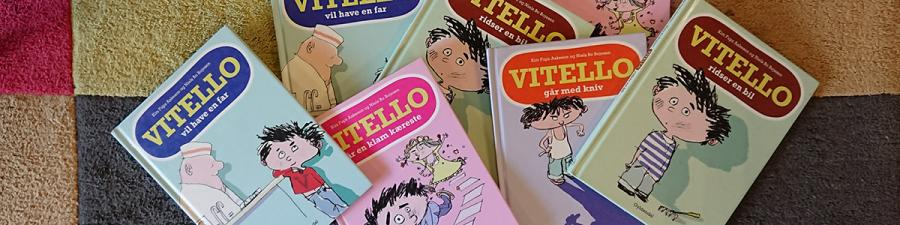 Masser af Vitello bøger