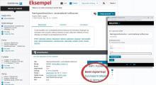 Screenshot af bibliotek.dk